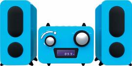 Bigben Microset Radio/CD Speler Blauw