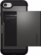 Spigen Slim Armor CS iPhone 7/8 Grijs