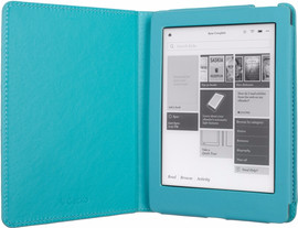 Gecko Covers Kobo Aura Hoes Luxe Blauw