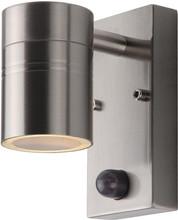 Lucide Arne-LED Wandlamp Zilver met Bewegingssensor S