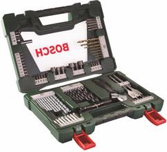 Bosch 83-delige Bit- en Borenset met LED Zaklamp