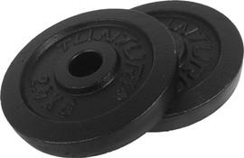 Tunturi Plates 2x 2,5 kg Black