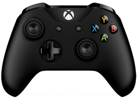 Microsoft Xbox One S Wired Controller Zwart (Windows 10)
