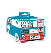 Dymo LW Duurzame Label Wit (59 mm x 102 mm)