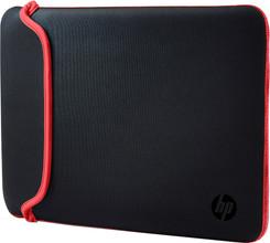 HP 15,6'' Reversible Sleeve Zwart/Rood