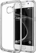 VRS Design Crystal Bumper Galaxy S7 Edge Zilver