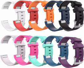 Just in Case Fitbit Charge 2 - 10 Silicone Watchbands