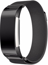 Just in Case Fitbit Charge 2 Milanees Watchband Black