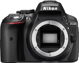 Nikon D5300 Body Zwart