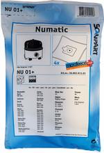Scanpart Stofzuigerzakken Numatic 1-C (5 stuks)
