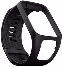 TomTom Spark 3/Runner 3 Horlogebandje Zwart - S