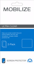 Mobilize Nokia 6 (2018) Screenprotector Plastic Duo Pack