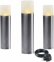 Garden Lights Oak Set