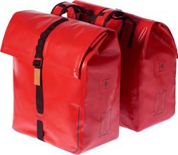 Basil Urban Dry Dubbel Bag 50L Rood