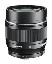 Olympus M.Zuiko Digital ED 75mm f/1.8 zwart