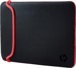 "HP 11.6"" Reversible Sleeve Zwart/Rood"