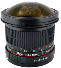 Samyang 8mm f/3.5 Fisheye MC CSII Nikon
