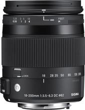 Sigma 18-200mm f/3.5-6.3 DC Macro OS HSM C Canon