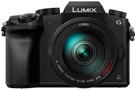 Panasonic Lumix DMC-G7 + 14-140mm f/3.5-5.6 zwart