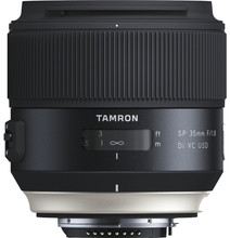 Tamron SP 35mm f/1.8 Di VC USD Canon