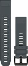 Garmin Fenix 5 QuickFit Siliconen Polsband - Grijs/Blauw