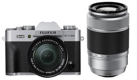 Fujifilm X-T20 Zilver + 16-50mm + 50-230mm IOS II