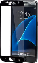 Azuri Samsung Galaxy S7 Screenprotector Edge to Edge Zwart