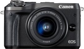 Canon EOS M6 Body Zwart + EF-M 15-45mm f/3.5-6.3 IS STM