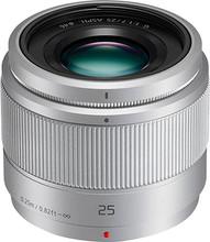 Panasonic Lumix G 25mm f/1.7 zilver