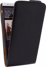 Xccess Leather Flip Case HTC One Max Black