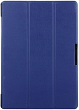 Just in Case Lenovo Tab 3 10 inch Smart Tri-Fold Case blauw