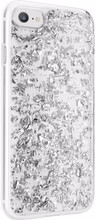 FLAVR iPlate Flakes iPhone 6/6s/7/8 Back Cover Zilver