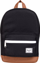 Herschel Pop Quiz Kids Black/Tan Synthetic Leather