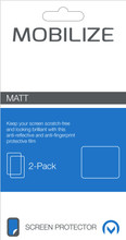 Mobilize Matt 2-pack Screen Protector Kobo Aura ONE