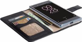Krusell Sunne Sony Xperia XZs Book Case Zwart