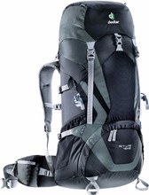Deuter ACT Lite 40 + 10 Black/Granite