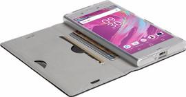 Krusell Malmo Sony Xperia XZ Premium Book Case Zwart