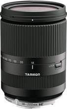 Tamron 18-200mm F/3.5-6.3 Di III VC zwart Canon EOS-M