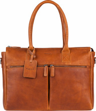 "Burkely Antique Avery Laptoptas 15,6"" Cognac"