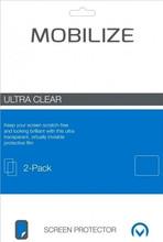 Mobilize Huawei P10 Screenprotector Plastic Duo Pack