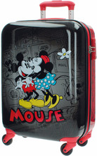 Mickey Mouse Retro Comic Black ABS 4 Wheel Trolley