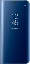 Samsung Galaxy S8 Clear Stand View Cover Blauw