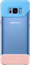 Samsung Galaxy S8 2Piece Cover Blauw/Roze