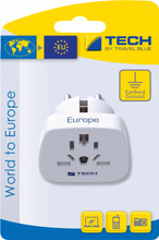 Travel Blue Wereld Adapter - Europa