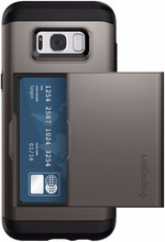 Spigen Slim Armor CS Galaxy S8 Plus Back Cover Grijs