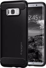 Spigen Rugged Armor Galaxy S8 Back Cover Zwart