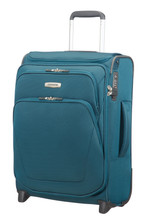 Samsonite Spark SNG Upright 55 cm Exp Toppocket Petrol Blue