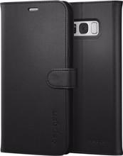 Spigen Wallet S Galaxy S8 Plus Book Case Zwart