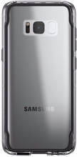 Griffin Survivor Clear Galaxy S8 Back Cover Zwart