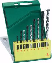 Bosch HSS-R/steenborenset 9-delig